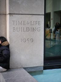 1959 Time Amp Life Building New York Ny Dated