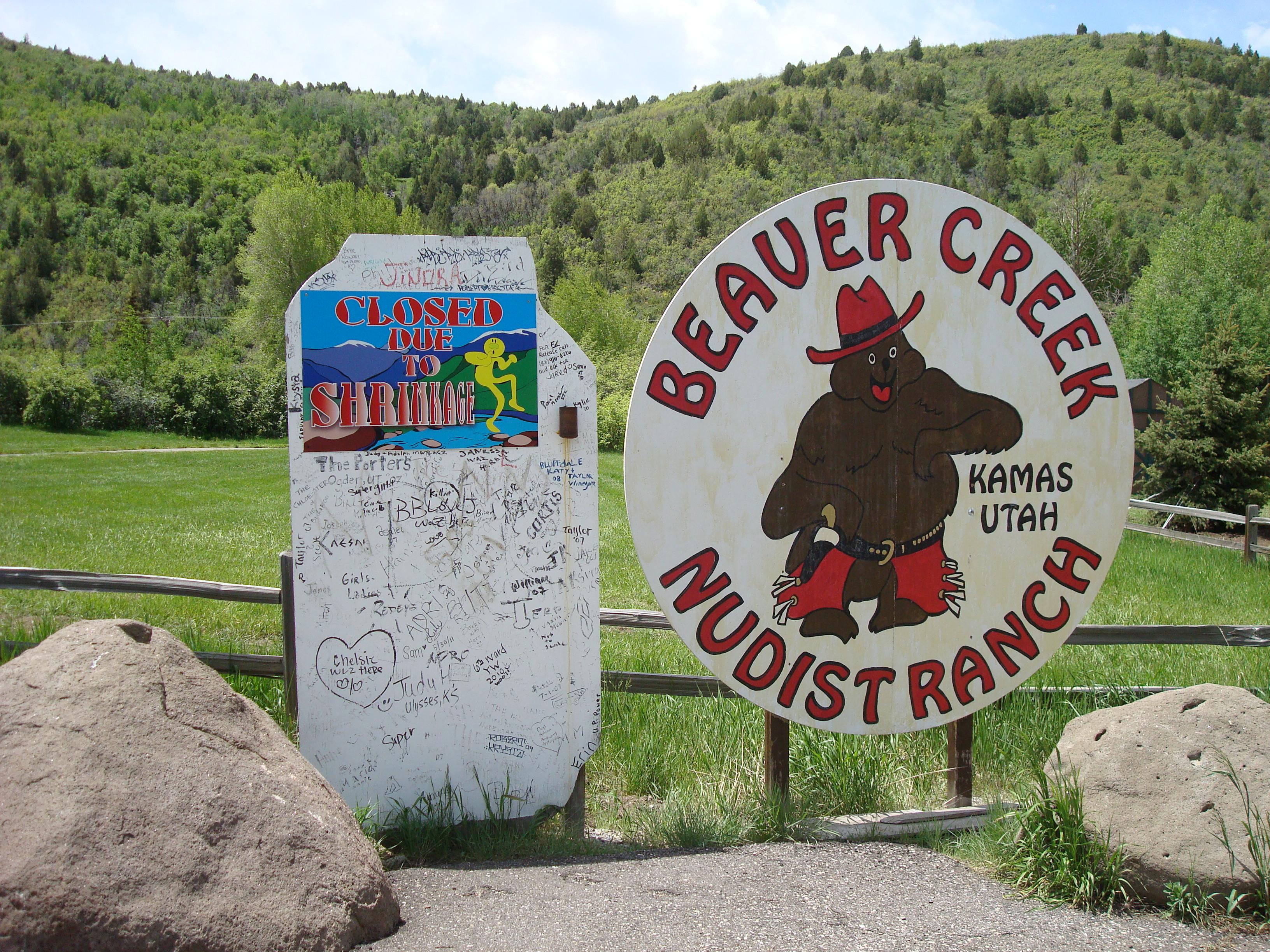 Firmly convinced, Beaver creek nudist ranch theme