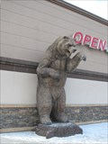 Image for Grizzly Bear Getting Groceries - Hinton, Alberta
