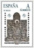 Image for Escudo museo arqueolóxico - Ourense, Galicia, España