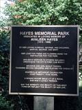 Image for Hayes Memorial Park - Bartow Co., GA