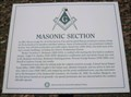 Image for Masonic Section - Jacksonville Cemetery - Jacksonville, Oregon