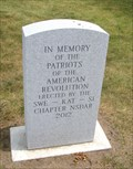 Image for Patriots of the American Revolution Memorial - Ogdensburg, NY