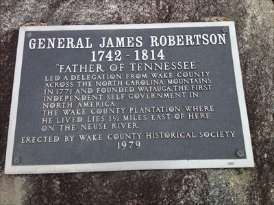"""Father of Tennesse"", Wake County, NC, USA"