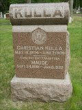 Image for Christian Kulla - Wyuka Cemetery - Lincoln, Ne.