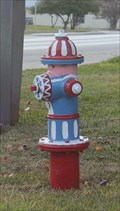 Image for Painted Hydrant -- San Saba TX