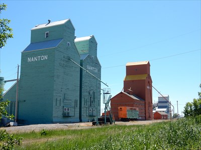 Alberta Wheat Pool Elevators - Nanton, Alberta