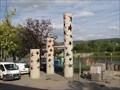 Image for Les colonnes des Nations - Schengen, Luxembourg