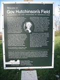Image for Welcome to Gov. Hutchinson's Field