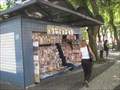 Image for Praca Visconde de Maua newsstand -- Santos , Brazil