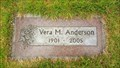 Image for 103 - Vera M. Anderson - Tigard, OR
