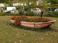 Image for Decorative boat near the ferry , Linz am Rhein - RLP / Germany