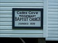 Image for Cades Cove Missionary Baptist Church Cemetery - Great Smoky Mountains National Park, TN