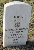 Image for CPL John Kile, USA -- Fort Leavenworth National Cemetery, Fort Leavenworth KS