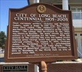 Image for City of Long Beach Centennial 1905-2005 - Long Beach, MS