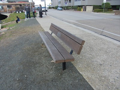 Ed Heitman Morro Bay Ca Dedicated Benches On Waymarking Com