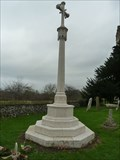 Image for Combined WWI and WWII memorial cross - St Mary - Newington, Kent
