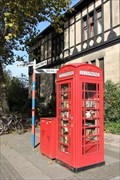 Image for Red Telephone Box / Book Exchange - Bonn, Germany