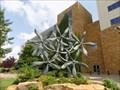 Image for Ten Big Standing Bronze Flowers - OKC, OK