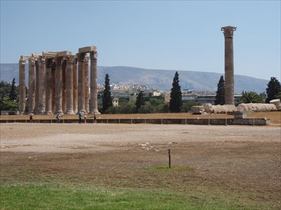 Temple of Olympian Zeus - Athens