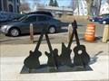 Image for Guitars Icons Bicycle Rack - Easthampton, MA
