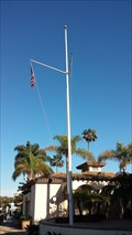 Image for Newport Dunes Marina Office & Clubhouse Nautical Flagpole - Newport Beach, CA