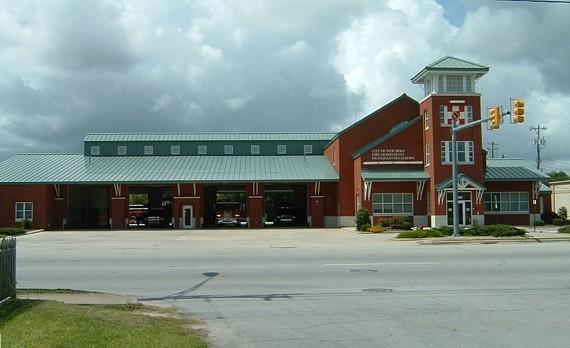 new bern fire department headquarters station  new bern