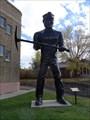 Image for Big John: Coal Black Muffler Man - Helper, UT