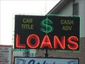 Image for $ Loans neon sign - Midway, TN