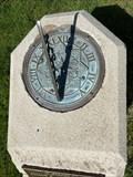 Image for Julian F. Arendshorst Memorial Sundial - Holland, Michigan USA
