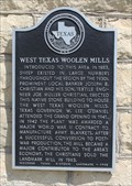 Image for West Texas Woolen Mills