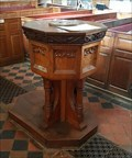 Image for Wooden Font - St John the Baptist - Berkswell, West Midlands