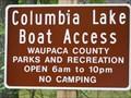 Image for Columbia Lake Boat Ramp - Waupaca, WI