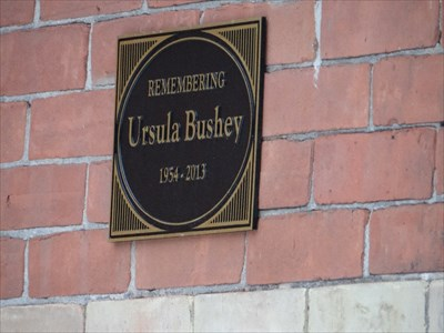 plaque to Ursula?