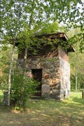 Image for Water Pump Station- Scenic Park CCC/WPA/Rustic Style Historic Resources –– Bigfork, MN