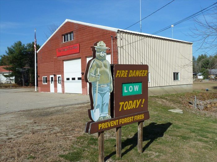 West Ossipee Fire Dept  Central Station Smokey - West