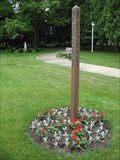 Image for Sacred Heart Convent Peace Pole - Wilmette, IL