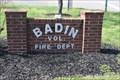 Image for Badin Vol. Fire Dept.