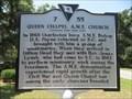Image for Queen Chapel A.M.E. Church - Hilton Head Island, South Carolina, USA.