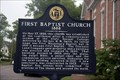 Image for First Baptist Church 1888 - Florence, AL