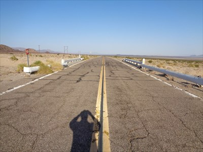 1952 - Route 66 Roadbed