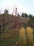 Image for World's Tallest Tripod Orchard Ladder - Summerland, British Columbia