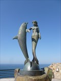 Image for Mermaid and Dolphin - Acapulco, Mexico