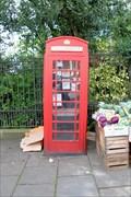 Image for Red Telephone Box - Highgate Hill, London, UK