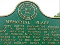 Image for Memorial Place - Historic Marker - Monroe, Michigan, USA.