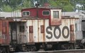 Image for White SOO Caboose - TRRA Gateway Rail Services Storage Yard, Madison, IL