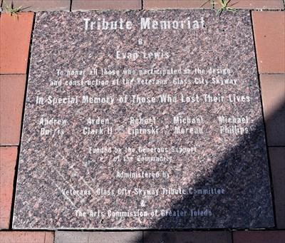 Tribute Memorial - Toledo, Ohio.