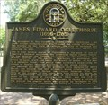 Image for James Edward Oglethorpe (1696-1785) Historical Marker - Savannah, GA