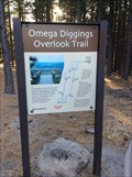Image for Omega Diggings Overlook Trail - Omega Rest Area - California