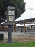 Image for Grapevine Vintage Railroad Clock - Grapevine, TX